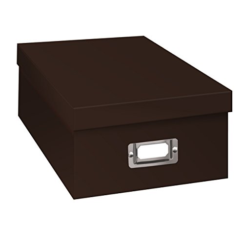 Pioneer Photo Albums B-1S Photo Storage Box, Dark Brown