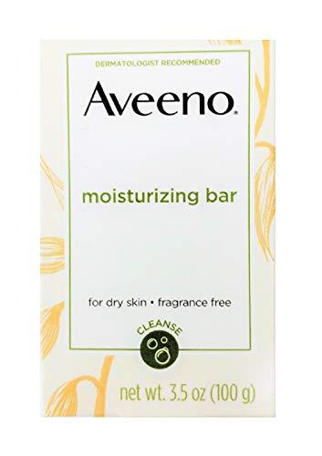 - AVEENO Naturals Moisturizing Bar for Dry Skin 3.50 oz (Pack of 10)