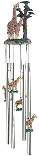 StealStreet SS-G-41016 Wind Chime Round Top Giraffe with