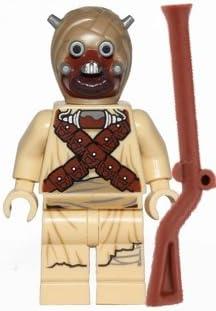 LEGO Star Wars Minifigur - Tusken Raider mit Waffe aus 75081 NEU New