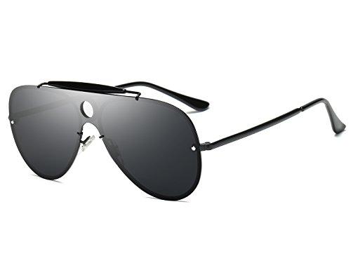 Bevi Polarized Cat Eye Metal Sunglasses - Sunglasses Hd Tv As Aviator On Seen