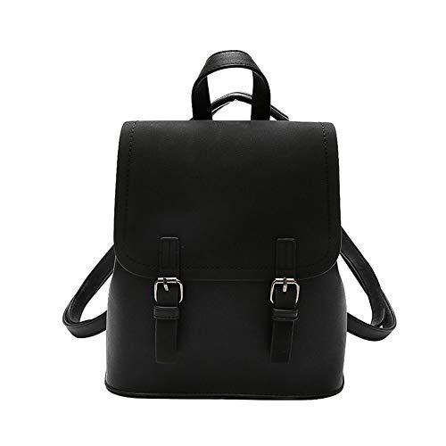 Clearance ❤ Women Bag JJLIKER Fashion Zipper Softback Preppy Style Backpack