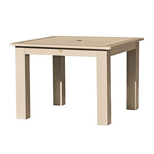 highwood AD-DTB44-TAU Square 42×42 Dining Table, Height, Tuscan Taupe