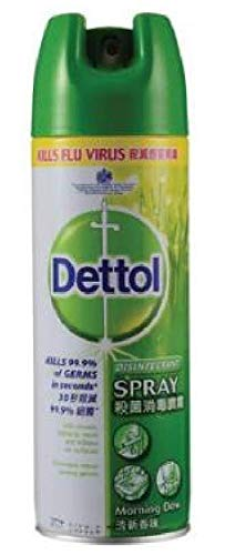 Spray Morning Dew 450ml-proven to Kill 99.9-Percent of Germs, viruses and Bacteria. ()