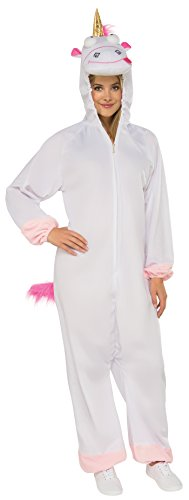 Rubie's Women's Despicable Me 3 Fluffy Onesie Costume With Hood, As/Shown, X-Large]()