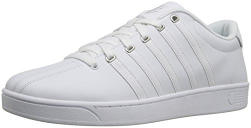 K-Swiss Men's Court PRO II Fashion Sneaker White/Silver 13 M