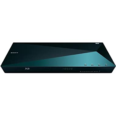 Sony BDPS5100 3D Blu-ray Disc Player with Super Wi-Fi - Netflix Hulu Amazon Prime Streaming Ready (Certified Refurbished)