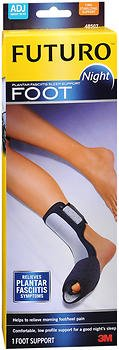 Futuro Plantar Fasciitis Night Foot Support - One Size, Pack of 4
