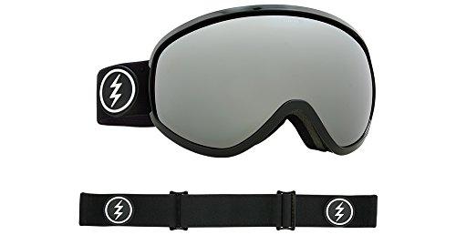 Masher Chrome (Electric Visual Masher Gloss Black/Brose Silver Chrome Snow Goggle)