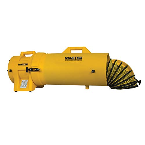 Master MB-P0813-DC25 Blower, 8 , 1 3 hp, 115V, with Attachable Duct Canister and 25 Duct