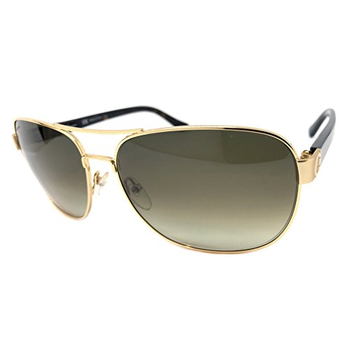 Salvatore Ferragamo SF139SA Sunglasses Color 717 Shiny Gold Size - Salvatore Sunglasses Ferragamo