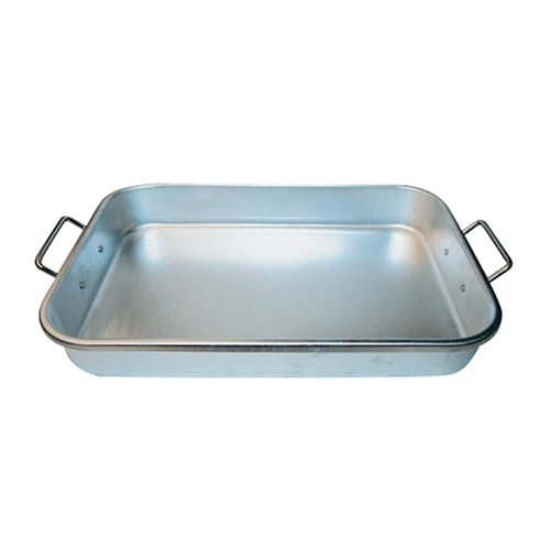 Winco ALBP-1218 Winware 12 18-Inch by 2-1/4-Inch Aluminum Bake Pan with Drop Hand ()