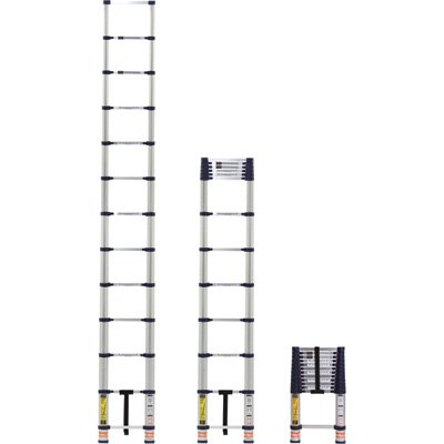 3. Xtend & Climb 780P 12.5 foot Steel and Aluminum Telescoping Extension Ladder