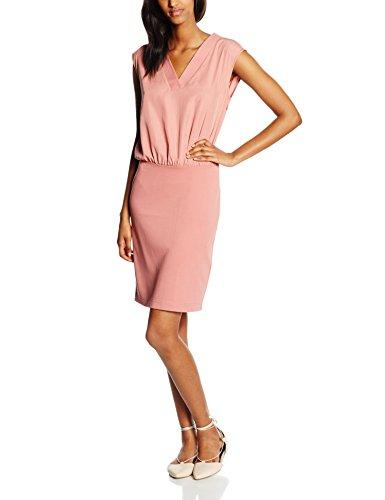 Tom Tailor Fabric Mix Dress, Vestido para Mujer Rosa