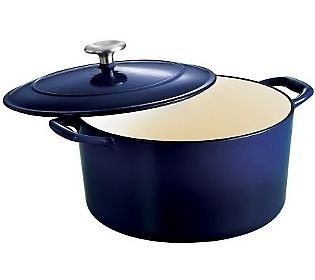 6.5 Qt Enameled Round Cast Iron Dutch Oven-Tramontina