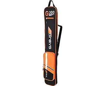 GRAYS GX 300 Bolsa para Stick de Hockey, Negro/Naranja ...