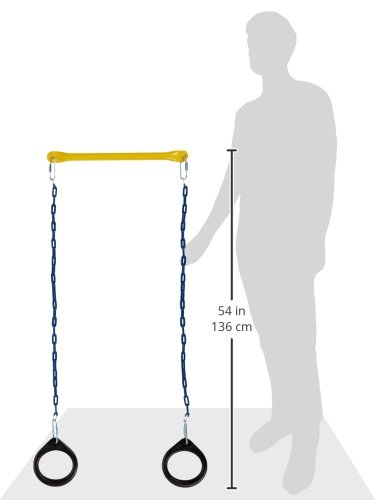 Ring and Trapeze Combo swing