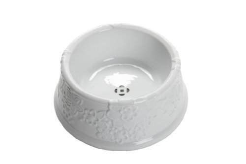 Oscar de la Renta White Ceramic Pet Dish Neiman Marcus + Target