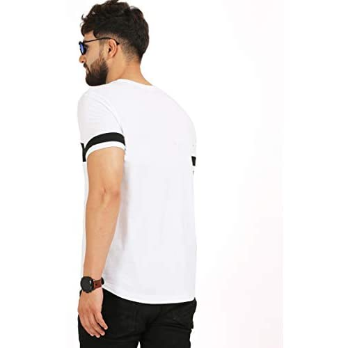 312v8ZsXIOL. SS500  - AELOMART Men's Cotton T Shirt-(Amt1072-P_White)