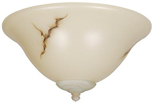Craftmade LKE49CFL 2 Light Elegance Bowl Fan Light Kit