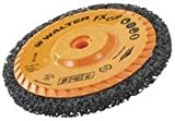 Walter FX Cleaning Abrasive Spin-On Cup Disc, Type 27, 10500 Maximum RPM, 5'' Diameter x 3/4'' Width, 5/8''-11 Arbor (Pack of 5)