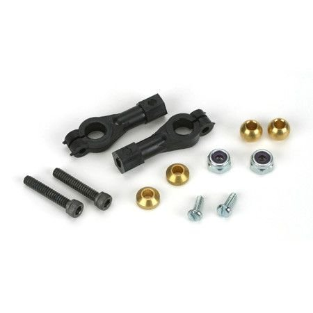 Du-Bro 2137 E/Z Adjust Ball Link For 4-40 Rods With Hardware, 4-40 x 5/8