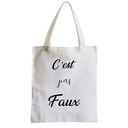 Citations Pas Plage Shopping Faux C'est Grand Sac Fabulous Etudiant nt8qxfYO4w