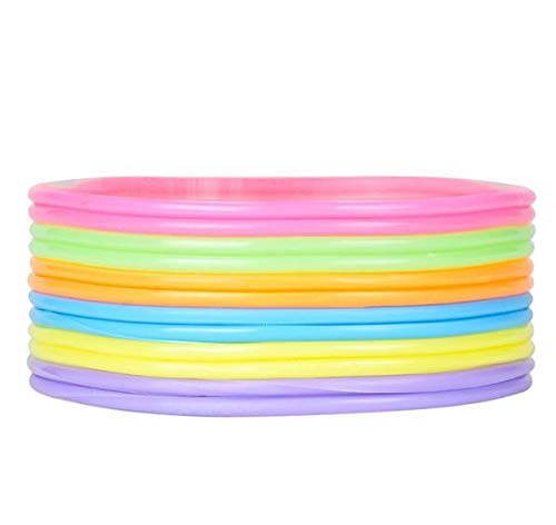 Rhode Island Novelty Neon Jelly Bracelets | Assorted Colors | 4-Packs of 144 |