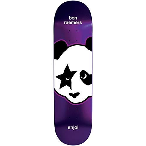 "Enjoi Skateboard Deck Kiss Metallic Raemers 8.25"""