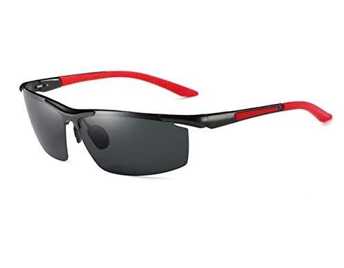 sol protección de sol marco de UV400 de de del Gafas gafas metal la metal del de al Red marco FlowerKui de del pesca libre aire 8YqAW
