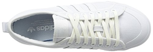 da Nizza Blanco Unisex 000 Bianco Fitness Adulto Scarpe adidas zEZndxqz