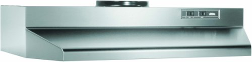 Broan CM130SSN Under-Cabinet Hood, Stainless Steel, 30-Inch