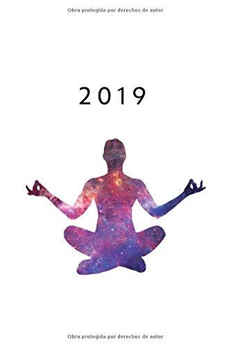 2019 ENE - DIC Agenda Semanal | 152 x 229 mm | 1 Semana en 2 Páginas | 52 Semanas Planificador y Calendario | Yoga  [Otto Organizador] (Tapa Blanda)