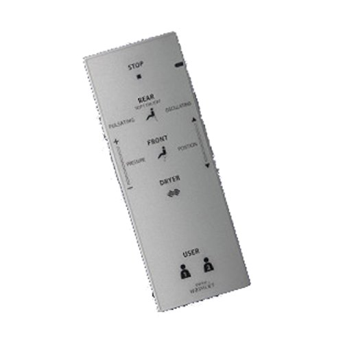 Toto THU9509 G500 Dual Max Cyclone Toilet Remote Control Assembly, Small by TOTO