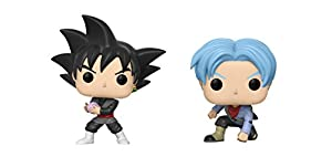 Funko POP Animation Dragon Ball Super: Goku Black and Future Trunks Toy Action Figures - 2 Piece BUNDLE