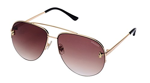VIVOCH, Aviator Sunglasses Military Style Polarized UV400 for Men and Women, MW03, - Heads Small With Men For Sunglasses