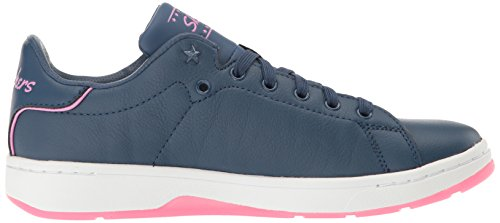 Skechers Street Womens Alpha Lite-cool Kid Fashion Sneaker Marine / Roze