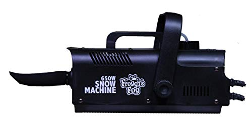 Froggys Fog - 650 Watt Snow Flake Machine for Outdoor or Indoor Use - Party Theatrical Snow Machine