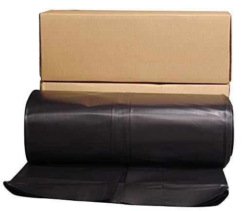 (Husky Plastic Sheeting Black 6ml 20ft x 100ft)