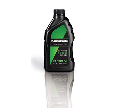 (Kawasaki 2-Stroke Motorcycle Racing Oil 1 Quart K61021-208A)
