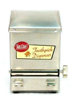 Stainless Steel Toothpick Dispenser (Tablecraft Products Retro Stainless Steel Toothpick Dispenser Home Supply Maintenance Store)