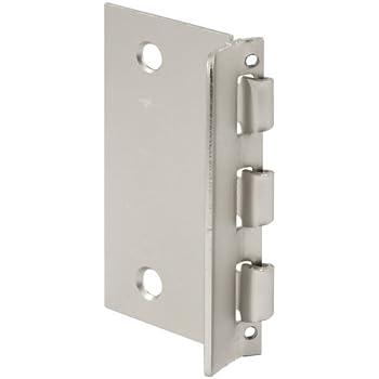 Defender Security U 10319 Flip Door Lock, 1 3/8 In. X 2 3/4 In., Steel,  Satin Nickel, Privacy Flip Action Lock