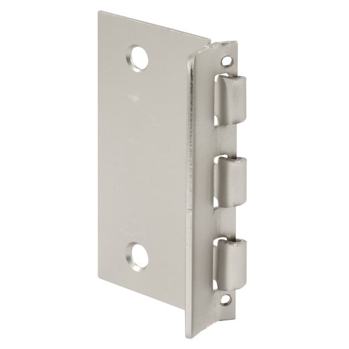 (Prime-Line U 10319 Flip Action Door Lock - Reversible Satin Nickel Privacy Lock with Anti-Lock Out Screw for Child Safe Mode, 2-3/4