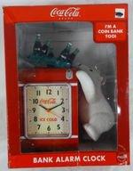 coca cola polar bear clock - 4