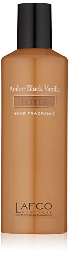 Lafco New York House and Home Foyer Mist - Amber Black Vanilla 4 Oz