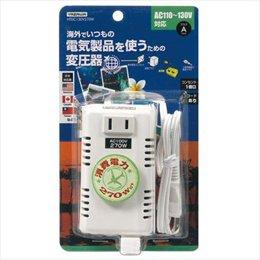 【まとめ 5セット】 YAZAWA 海外旅行用変圧器130V270W HTDC130V270W B07KNSR2NG