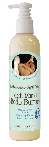 Earth Mama Angel Baby Mama Terre Beurre corporel, 8-Ounce Bottle