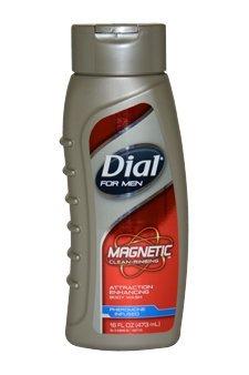 Activité magnétique Améliorer Body Wash hommes par DIAL, 16 onces (Pack 2)