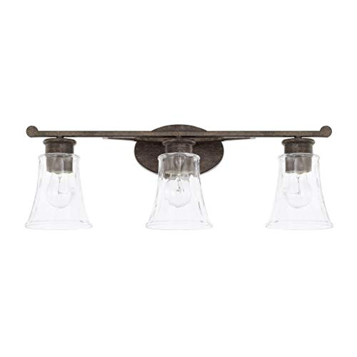 Capital Lighting 117431RB-372 Three Light Vanity