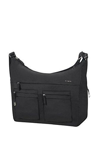 Samsonite Move 2 Shoulder Bag L + 2 Pock Borsa Messenger, 35 cm, Black